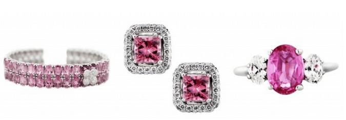 luxury jeweler pink