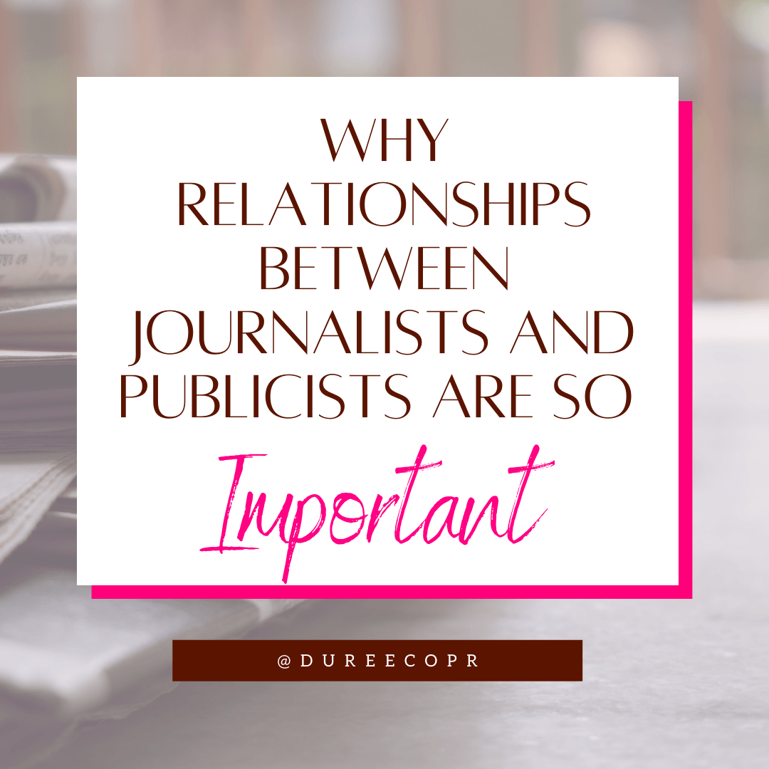Journalists and Publicists
